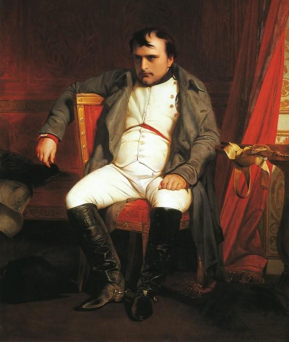 Наполеон I Бонапарт после отречения от престола. /Фото: cdni.rbth.com