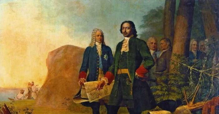 Петр I и Алексей Меншиков./Фото: prizyv.ru