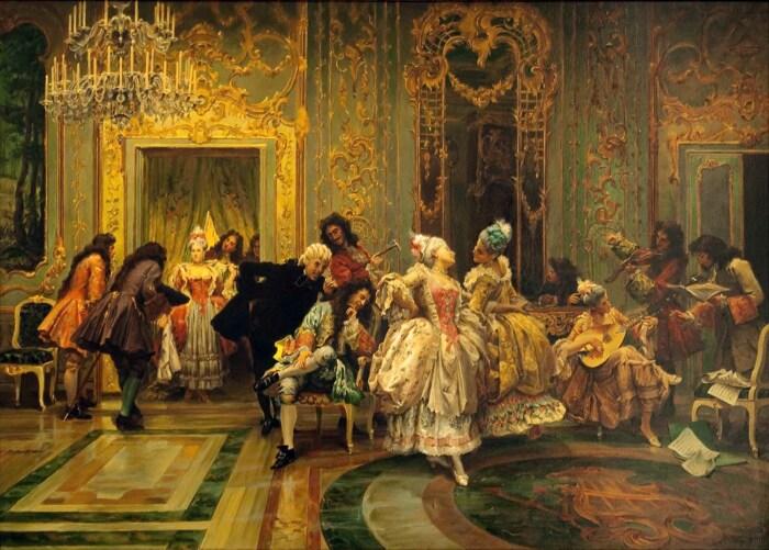 Аристократы должны были уметь себя вести и выглядеть опрятно. /Фото: ic.pics.livejournal.com