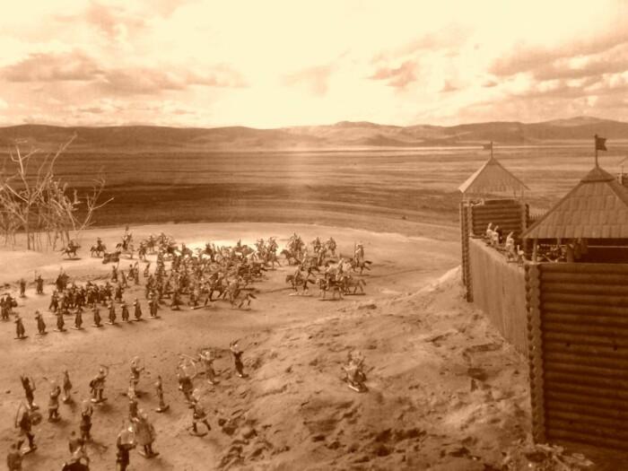 Осада Астрахани в 1569-м. /Фото: ic.pics.livejournal.com