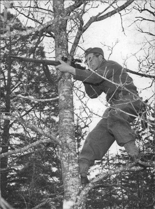 Финский снайпер-кукушка. /Фото: content.foto.my.mail.ru