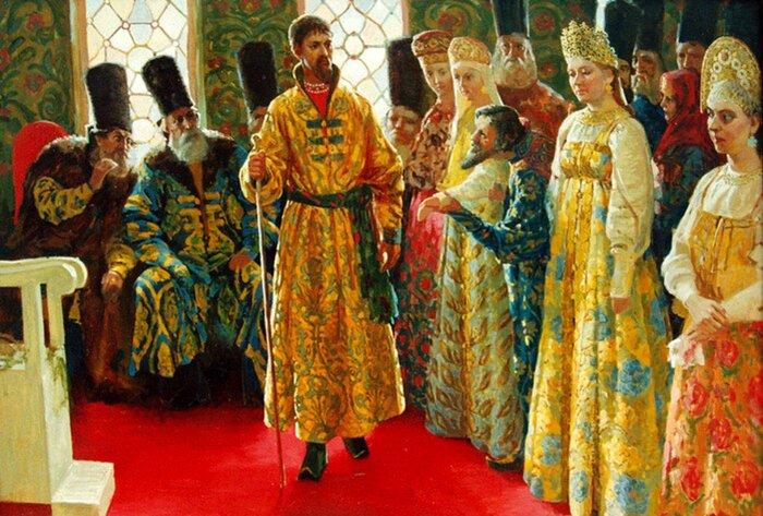 Иван Грозный выбирал себе жен и честно с ними венчался. /Фото: felicina.ru