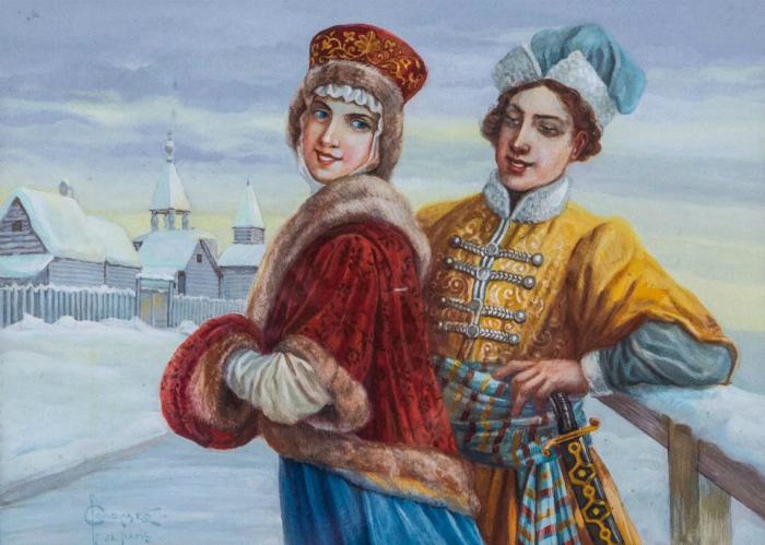 Многие девушки убегали из дома, чтобы тайно соединиться с возлюбленным. /Фото: d.radikal.ru