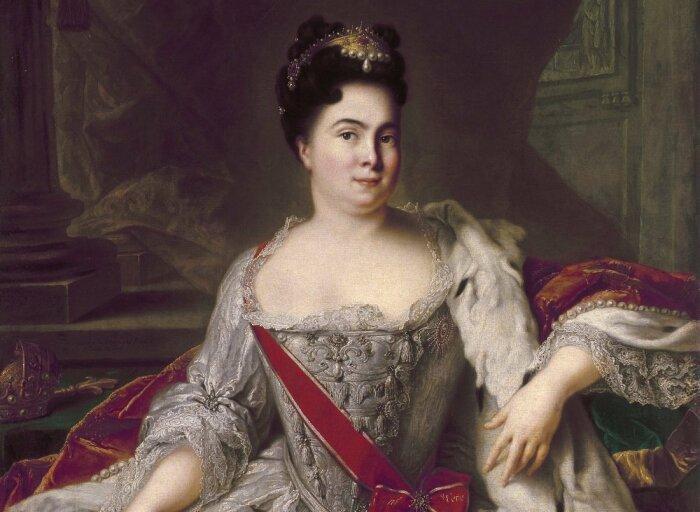 Марта Скавронская получила статус официальной жены и стала Екатериной. /Фото: moiarussia.ru