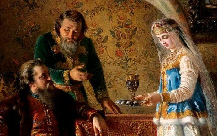 Домострой требовал жесткого подчинения женщины своему мужу. /Фото: pravmir.ru