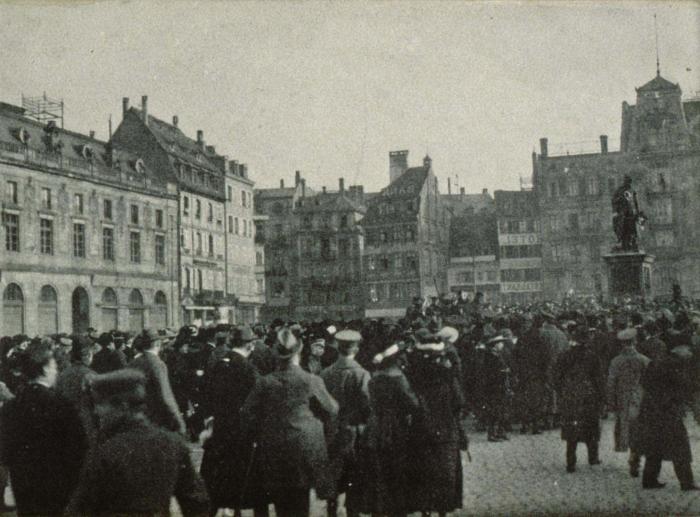 После прихода французской армии часть эльзасцев были вынуждены эмигрировать на волне национальных чисток./Фото: upload.wikimedia.org