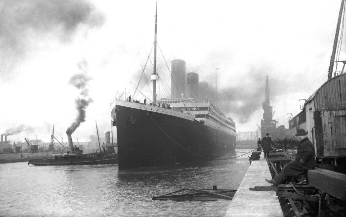 Титаник в Саутгемптоне./Фото: versiya.info