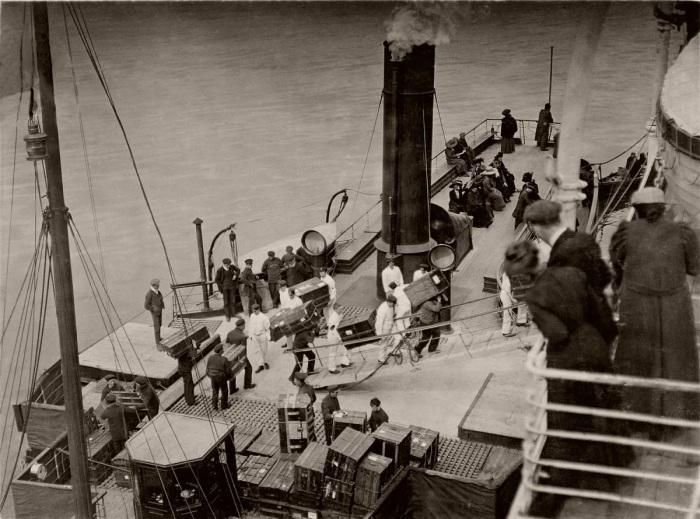 На палубе «Титаника»./Фото: avatars.mds.yandex.net