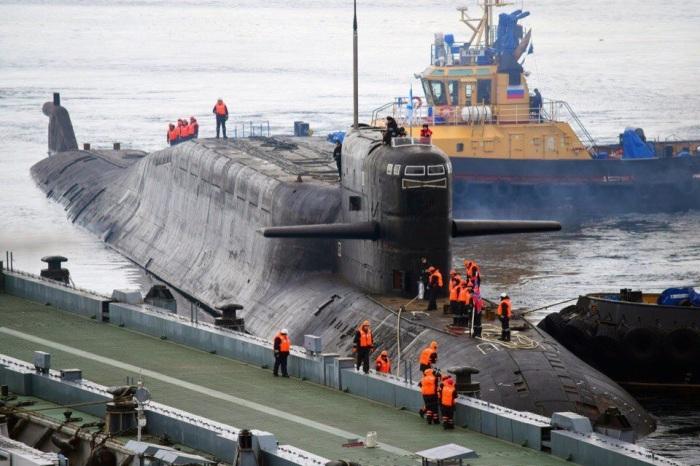 Атомный подводный крейсер К-84. /Фото: pbs.twimg.com