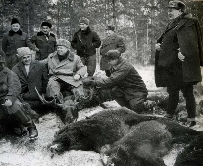 Охотник Хрущев. /Фото: pbs.twimg.com