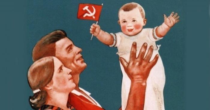 Рождение ребенка освобождало семью от налога на бездетность./Фото: glavcom.ua