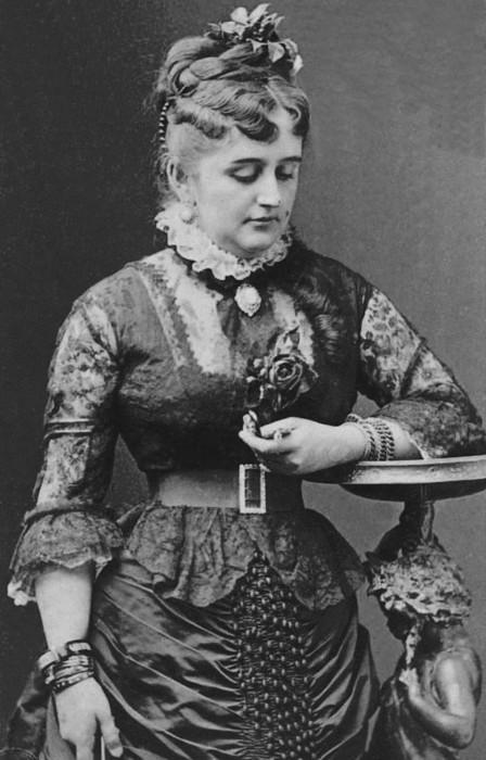 Американка Фанни Лир примерно в 1880 году. /Фото: cdni.rbth.com
