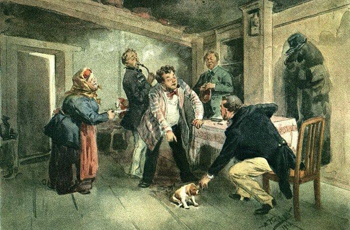 В поэме «Мертвые души» Гоголь рассказал о крепостном праве и его проблемах. /Фото: ndc.book24.ru