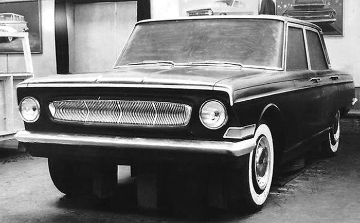Макет 1961 года. /Фото: i.pinimg.com
