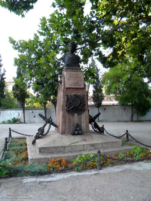 Памятник матросу Кошке в Севастополе./Фото: shukach.com
