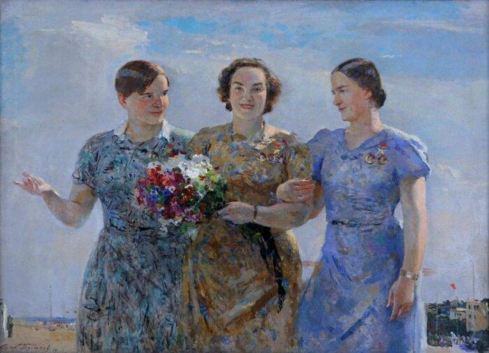 Советская живопись. /Фото: permartmuseum.ru