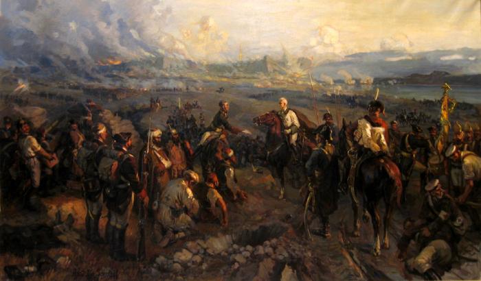 Взятие Измаила. /Фото: all-russia-history.ru