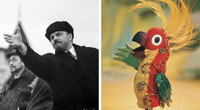 Прототипом попугая стал вождь мирового пролетариата Владимир Ильич Ленин./Фото: s.mediasole.ru