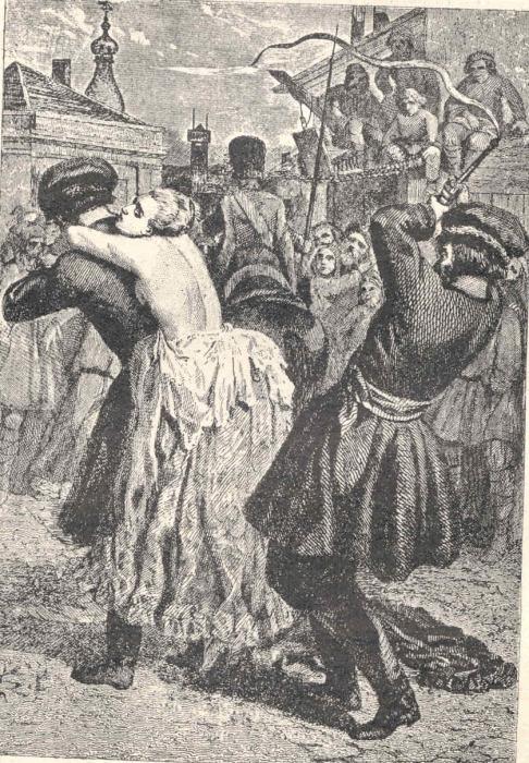 Наказание женщины кнутом. /Фото: 18judo.ru