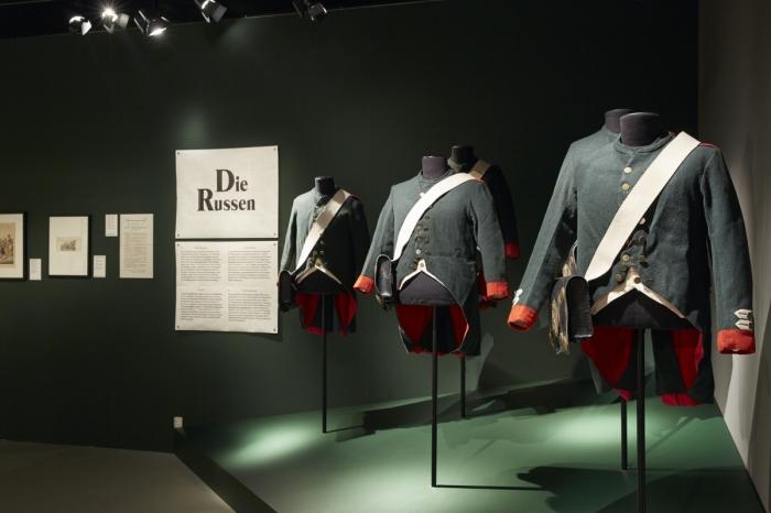 Композиция «Русская армия» в Landesmuseum (Национальном музее Швейцарии)./Фото: nashagazeta.ch