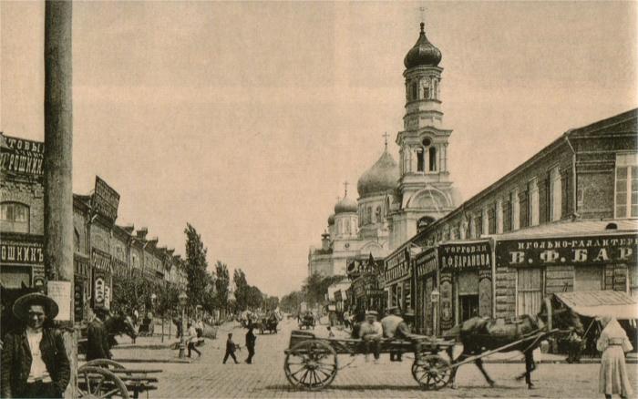 Центральный рынок в начале 20 века. /Фото: farm2.staticflickr.com