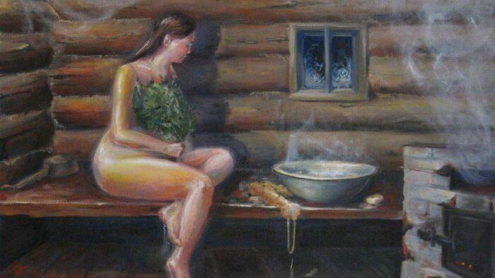 Когда невеста как следует потела, знахарка собирала пот с ее тела. /Фото: otprishchei.ru