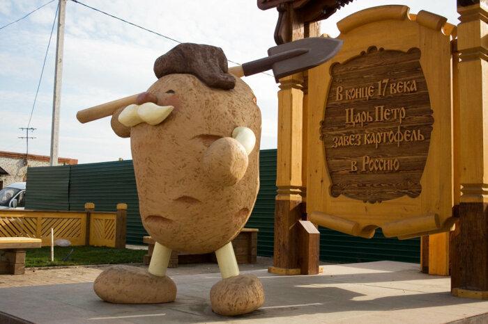 Есть мнение, что картофель появился на Руси благодаря Петру I. /Фото: crimeworld.club