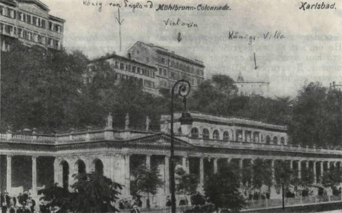 пансионат в Карловых Варах «Английский король», где останавливался И. Тургенев