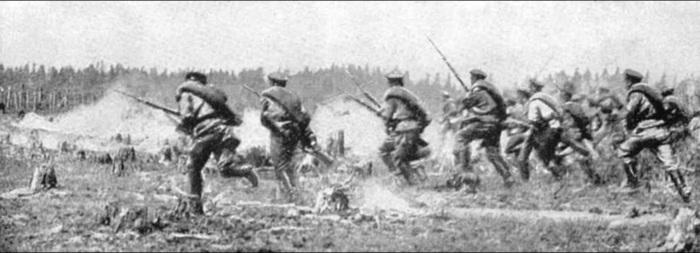Поначалу русские успешно теснили германцев. /Фото: i.dailymail.co.uk