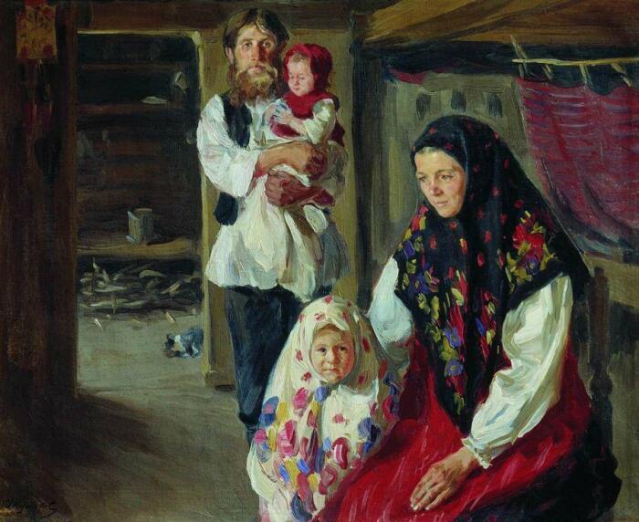 Замужняя женщина должна была во всем слушаться своего мужа. /Фото: img11.postila.ru