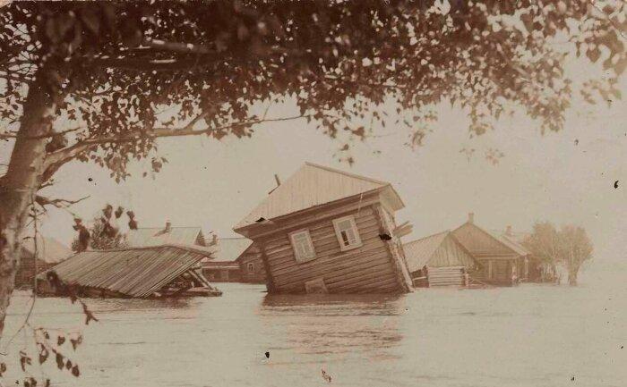 Территория, где произошло наводнение, считалось нехорошей. /Фото: img-fotki.yandex.ru