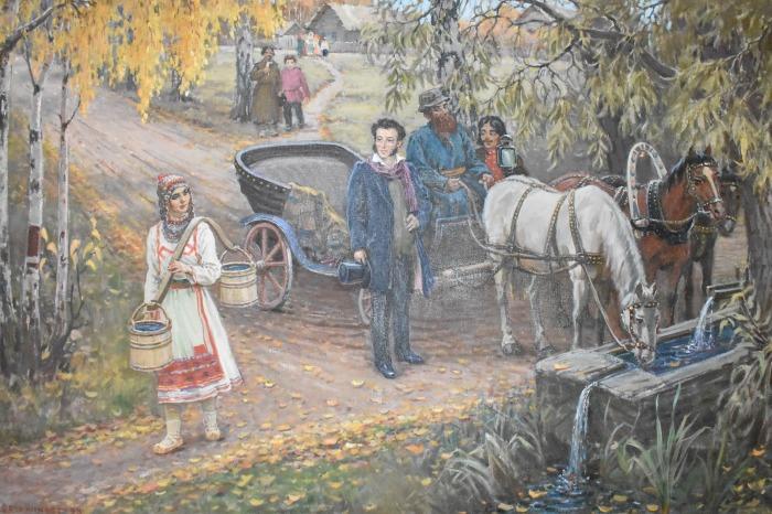 В Болдино Пушкин увлекся юной крепостной крестьянкой Ольгой. /Фото: fs02.rchuv.ru