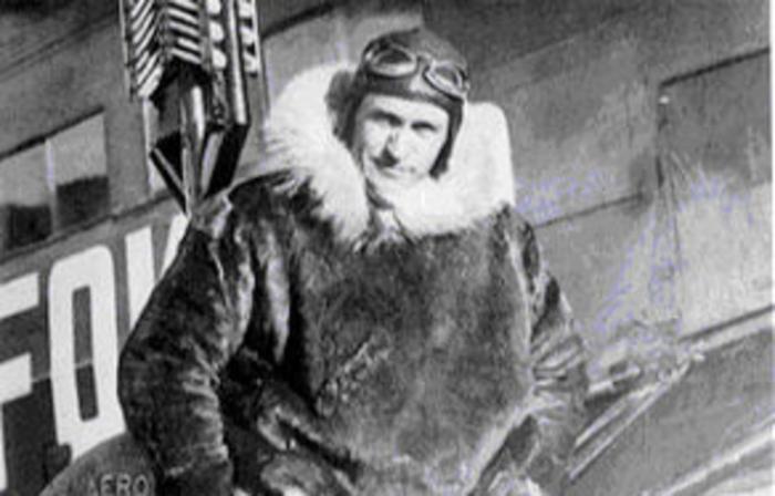 Американский полярный лётчик Бен Эйельсон./Фото: s.ura.news
