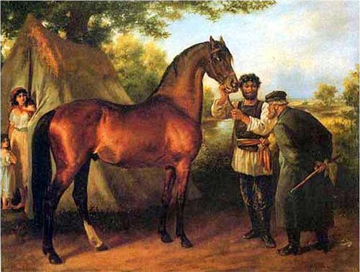 В древности магарыч выставляли при удачной покупке лошади. /Фото: img1.liveinternet.ru