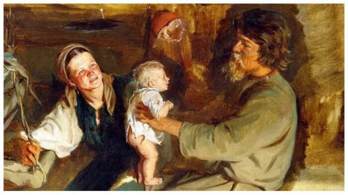 Духовное воспитание детей тоже входило в ответственность супруга. /Фото: fb.ru