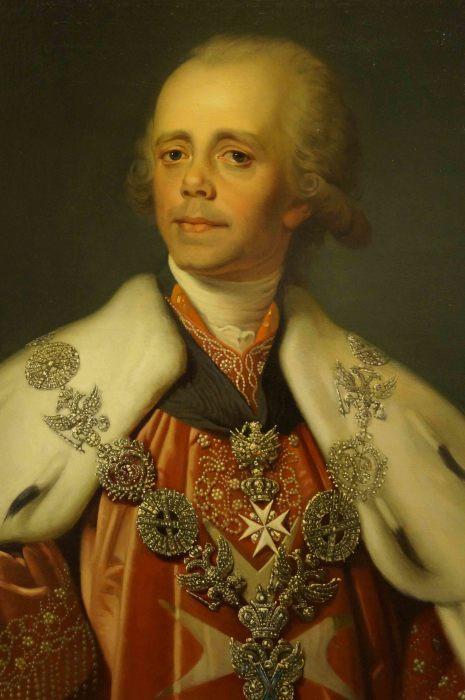 Павел I Петрович – Император и Самодержец Всероссийский (1796-1801 год)./Фото: дворцы-сады-парки.рф