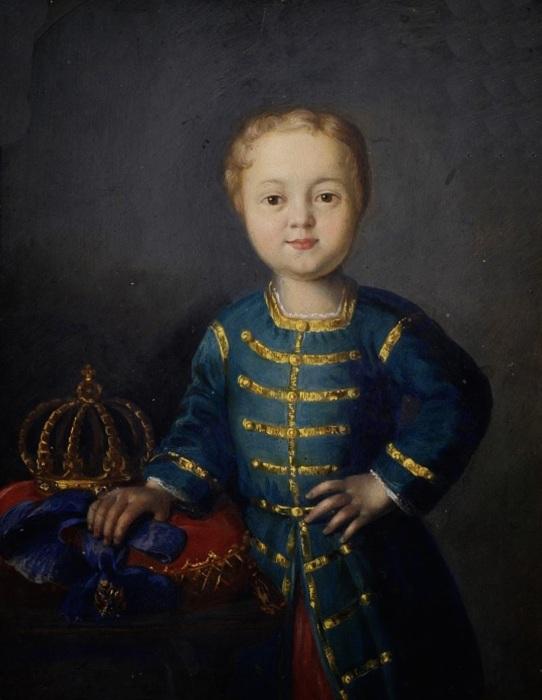 Портрет годовалого Иоанна Антоновича./Фото: i.pinimg.com