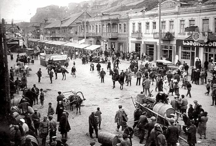 Тифлис 1930-х. /Фото: syl.ru
