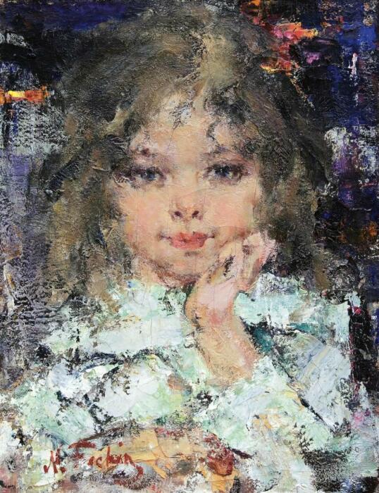 Фешину часто позировала дочь. /Фото: s018.radikal.ru