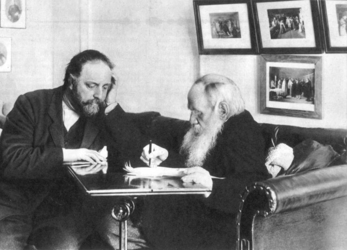 Одна из последних фотографий Л.Н. Толстого./Фото: yuzhnoebutovomedia.ru