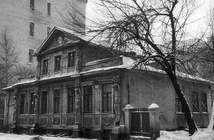 Дом Плевако, снесенный в 1993 году./Фото: sfw.so