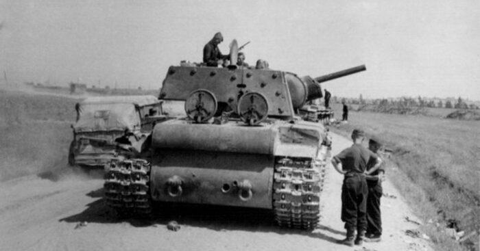 Базовый танк КВ-1. /Фото: supreme2.ru