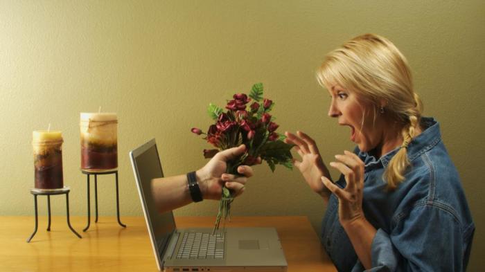 Знакомства через сайты перспективны и приятны./Фото: syl.ru