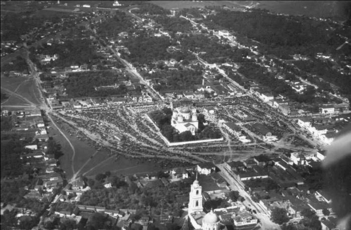 Вид города, Липецк. Конец 20-х годов. /Фото: avatars.mds.yandex.net