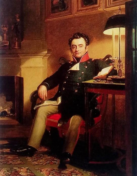 Портрет графа П. А. Шувалова (Джордж Доу). /Фото: i2.wp.com
