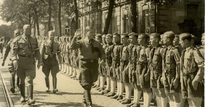 С воспитанниками Гитлерюгенд регулярно встречались авторитетные нацисты. /Фото: 1.bp.blogspot.com