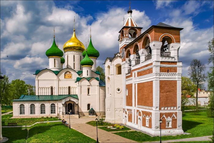 Спасо-Евфимиев мужской монастырь в Суздале, где похоронен Авель./Фото: lh3.googleusercontent.com