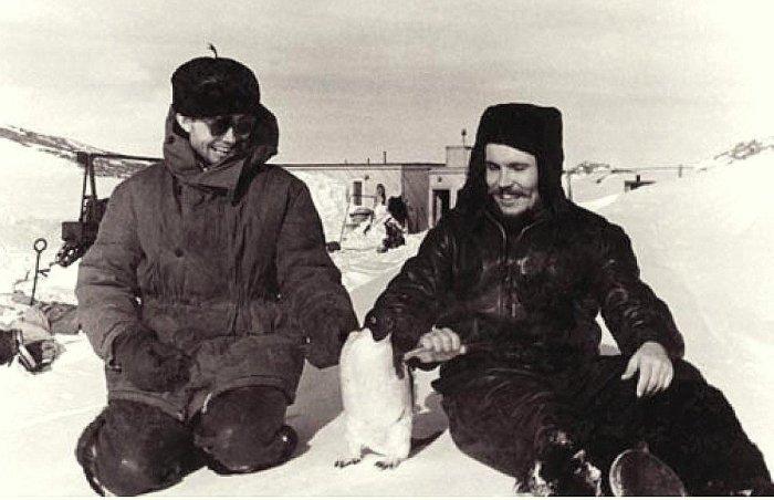 Романтика Антарктиды манила советскую молодежь. /Фото: k33.kn3.net
