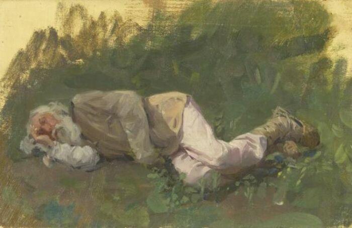 Крестьяне спали в одежде. /Фото: i.pinimg.com