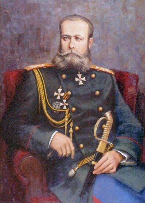 Царский генерал Скобелев. /Фото: ic.pics.livejournal.com